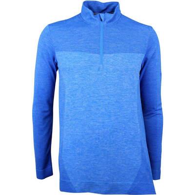 Puma Golf Pullover Evoknit Seamless QZ Electric Blue LE SS18