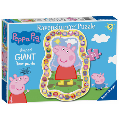 Ravensburger Peppa Pig, 24pc Giant Floor Jigsaw Puzzle