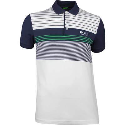Hugo Boss Golf Shirt Paddy Pro 1 Training White SP18