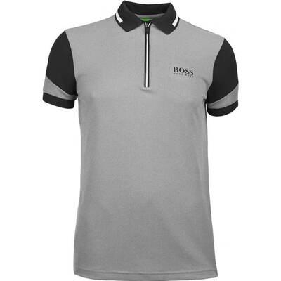Hugo Boss Golf Shirt Prek Pro Black SP18