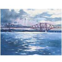 """Image of """"Magnificence"""" The Forth Railway Bridge South Queensferry - Signed Limited Edition Print"""