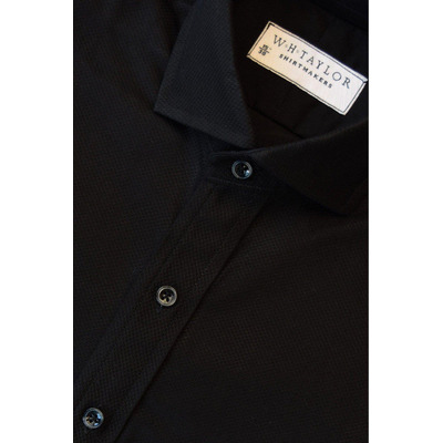 Black Marcella Evening Bespoke Shirt - 1+
