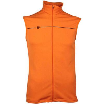 Galvin Green Golf Gilet DANE Insula Lite Orange SS18