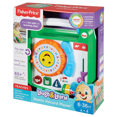Fisher-price Laugh And Learn Remix Record Player