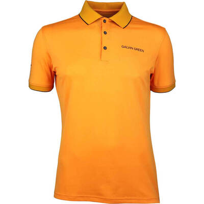 Galvin Green Golf Shirt MARTY Tour Orange SS18