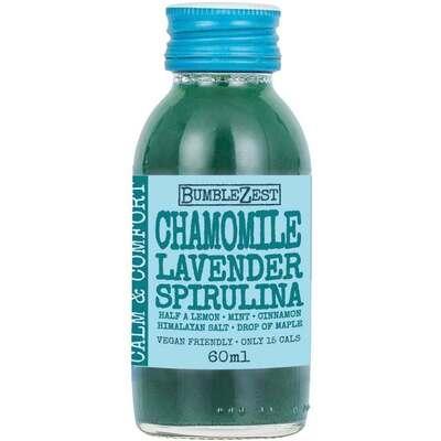 Bumblezest Calm & Comfort Chamomile Lavender & Spirulina Drink 60ml