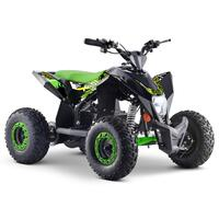 Image of FunBikes T-Max Roughrider 1000w Electric Green Kids Quad Bike