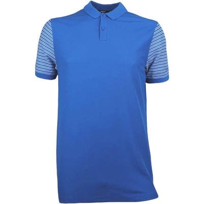 Nike Golf Shirt NK Dry Pique Stripe Blue Nebula SS18