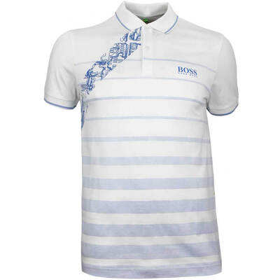 Hugo Boss Golf Shirt Paule Pro 2 Training White PF18