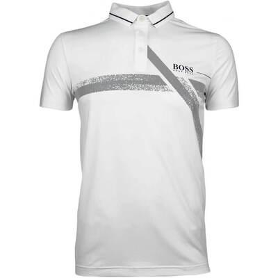 Hugo Boss Golf Shirt Pavotech Training White FA18