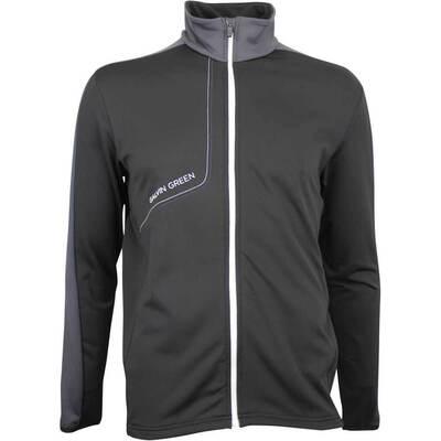 Galvin Green Golf Jacket Dario Insula Black Iron AW18