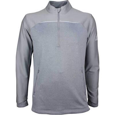Adidas Golf Pullover Go To Quarter Zip Grey Three AW18