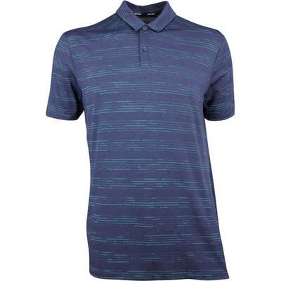 Nike Golf Shirt NK Dry Heather Texture Obsidian AW18
