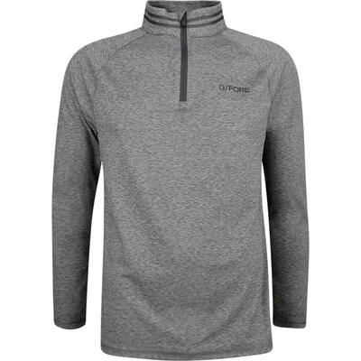 GFORE Golf Pullover The Mid Heather Grey AW18