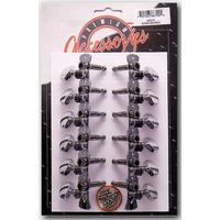 12 String Western Guitar Machine Heads
