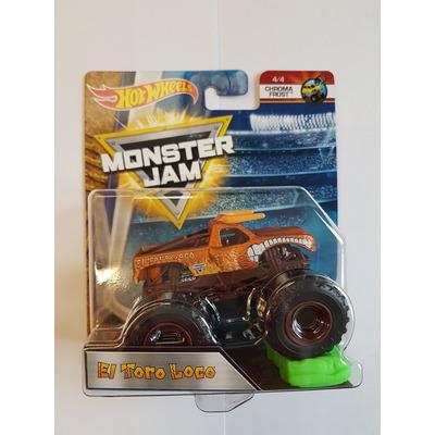 Hot Wheels Monster Jam   El Toro Loco   Chroma Frost 4/4