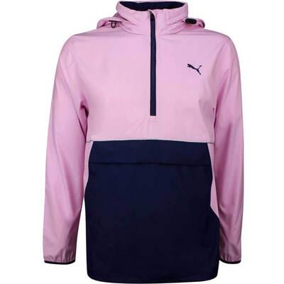 PUMA Golf Jacket Retro Wind Hoodie Pale Pink LE SS19