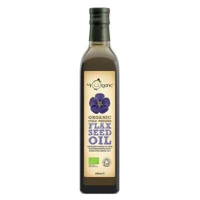 Mr Organic Cold Pressed Flax Seed Oil 250ml