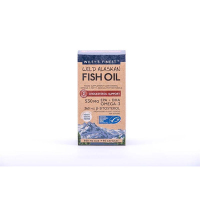 Wiley's Finest Cholesterol Support 90 Capsules