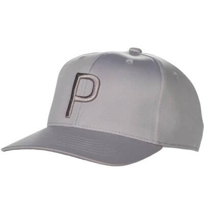 PUMA Golf Cap P 110 Snapback Quarry SS19