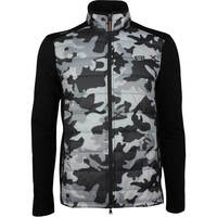 RLX Golf Jacket - Quilted Coolwool - Black Camo SS19
