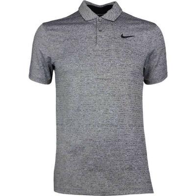 Nike Golf Shirt Vapor Heather Black SS19
