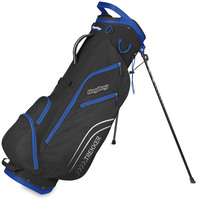 BagBoy Trekker Ultra Lite Golf Stand Bag - Black/Blue