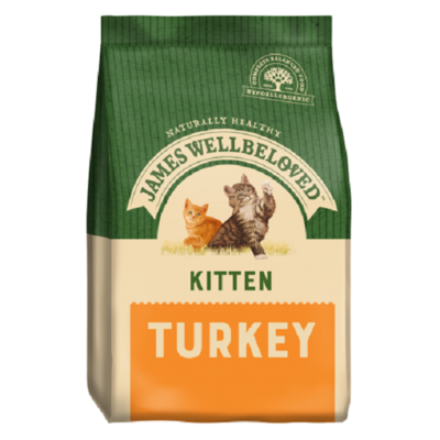 James Wellbeloved Life Stage Turkey Kitten