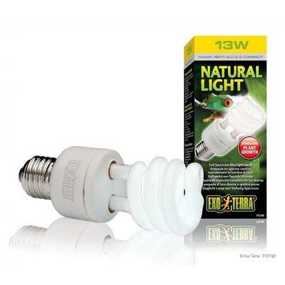Exo-Terra Natural Light Compact Lamp