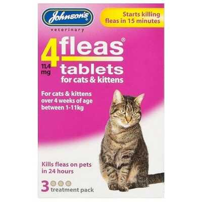 Johnsons 4fleas Tablets 3 Treatment