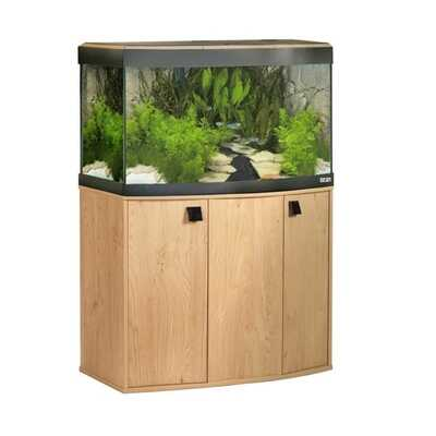 Fluval Vicenza Bow Front Oak