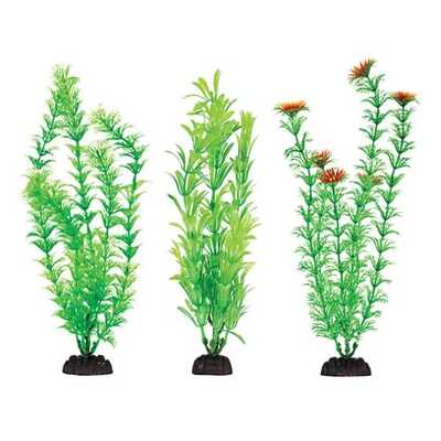 Fish 'R' Fun Plastic Plant / Base - 10.2cm / 4