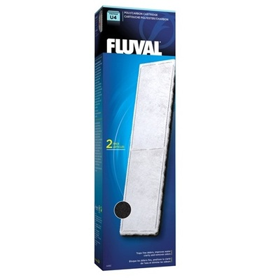 FLUVAL Poly / Carbon Cartridge 2 Pack / Foam Pad