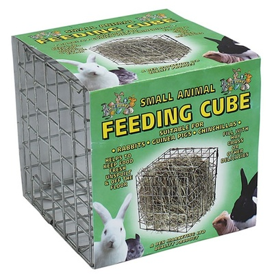 Lazy Bones Small Animal Feeding Cube
