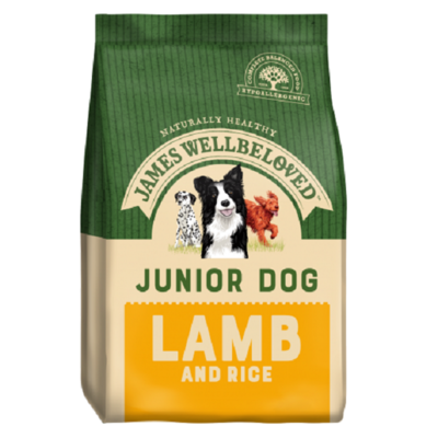 James Wellbeloved Junior Lamb & Rice Dog Food