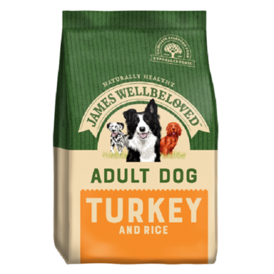 James Wellbeloved - Turkey & Rice Adult Dog Food