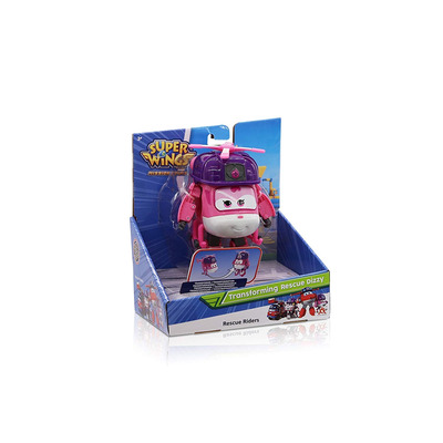 Super Wings Transforming Character Rescue Dizzy