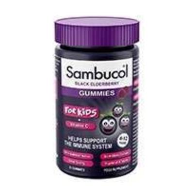Sambucol Black Elderberry Kids Gummies 30 Pack