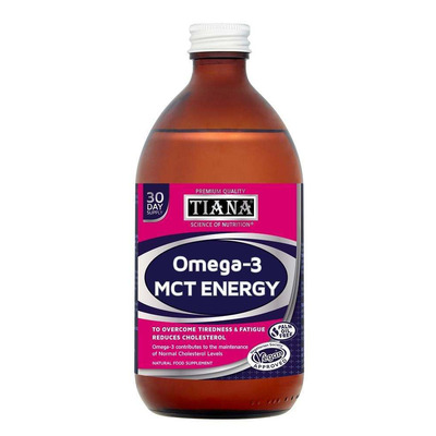 Tiana High Strength MCT Energy with Omega 3 500ml