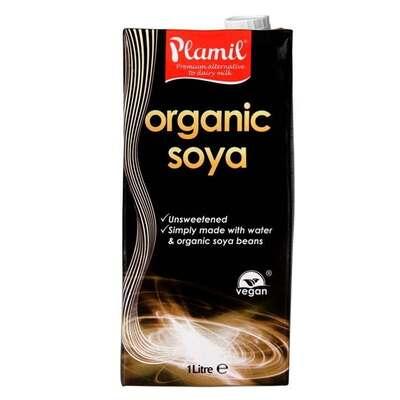 Plamil Organic Soya Milk 1 Litre