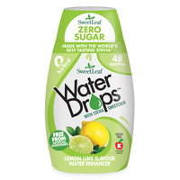 Natural Stevia Water Drops Lemon & Lime 48ml