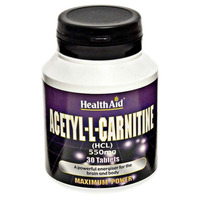 Acetyl-L-Carnitine 550mg 30's