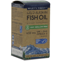 Wild Alaskan Fish Oil Easy Swallow Minis 180's
