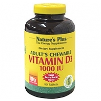 Adult's Chewable Vitamin D3 1000iu 90's