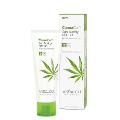 Andalou Naturals CannaCell Sun Buddy Facial SPF30 80ml