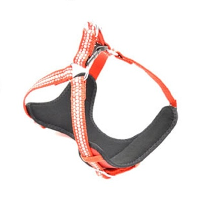 Lazy Bones Reflective Red Harness
