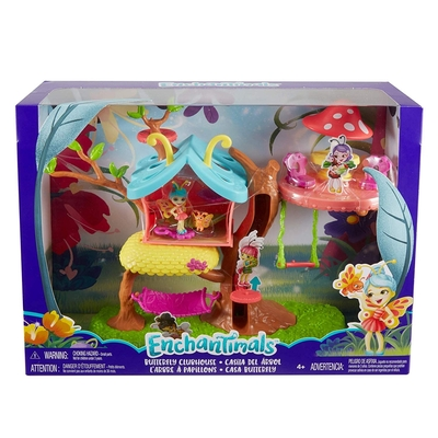 Enchantimals Baxi Butterfly Doll Butterfly Clubhouse Playset
