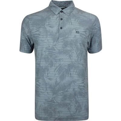 TravisMathew Golf Shirt Rebel Rick Polo Blue Floral SS19