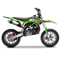 Image of FunBikes MXR 50cc Motorbike 61cm Green/Black Kids Dirt Bike