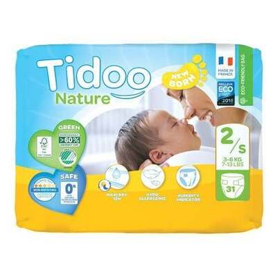 Tidoo Nappies Size 2 - 31 Nappies